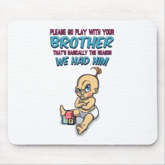 Gehen Spiel mit Ihrem Bruder - perfekter Parenting Mauspads