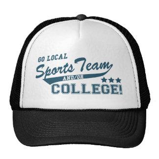 Gehen Sport-Team und oder Uni lokales Truckermütze