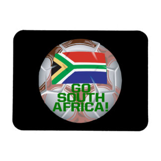 Gehen Südafrika Vinyl Magnete