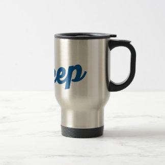 Gehen tief - Kaffeereise-Tasse Edelstahl Thermotasse