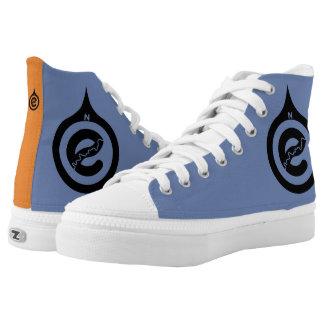 Gehen Zipz hohe Spitzenschuhe Nord Hoch-geschnittene Sneaker