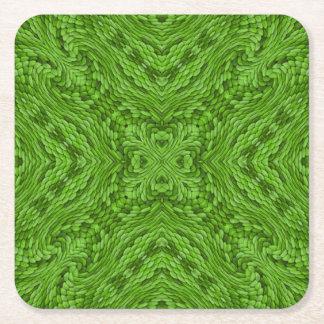Gehende grüne bunte Untersetzer
