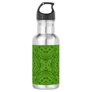 Gehende grüne bunte Wasser-Flaschen Trinkflasche
