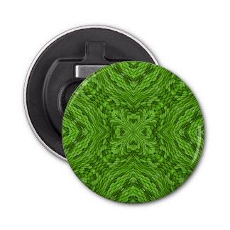 Gehende grüne Kaleidoskop-   magnetische Flaschenöffner