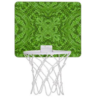 Gehende grüne MiniBasketballkörbe Mini Basketball Ring