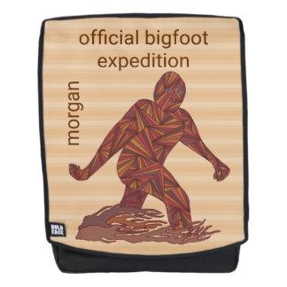 Gehende Sasquatch offizielle Expedition Bigfoots Rucksack