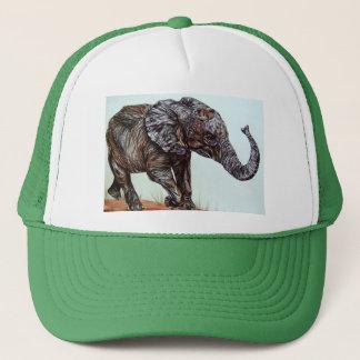 Gehender Elefant Truckerkappe