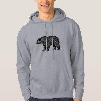 Gehender Grizzlybär Hoodie