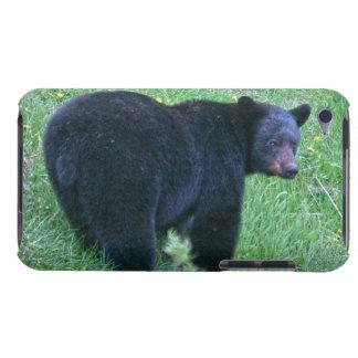 Gehender schwarzer Bärn-Tier-Designer-Kasten iPod Case-Mate Case