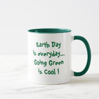 Gehendes Grün ist cool! Tasse