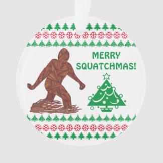 Gehendes Sasquatch lustiges Weihnachten Z Bigfoot Ornament