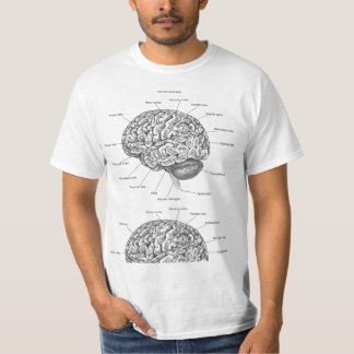Gehirn-Anatomie T-Shirt