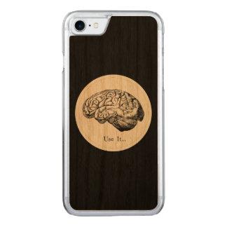 Gehirn-Anatomie - verwenden Sie sie Carved iPhone 8/7 Hülle
