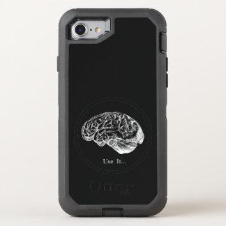 Gehirn-Anatomie - verwenden Sie sie OtterBox Defender iPhone 8/7 Hülle