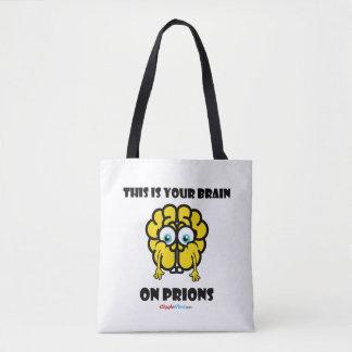 Gehirn auf Prion Tasche