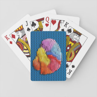 Gehirn-Block-Spielkarten Kartendeck