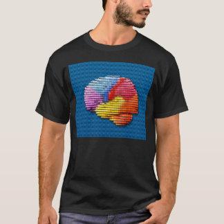 Gehirn-Blöcke T-Shirt