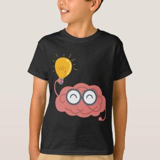Gehirn-Glühlampe T-Shirt