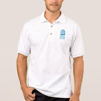 Gehirn-Puffer-Polo-Weiß Polo Shirt