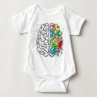 Gehirn-Reihe Baby Strampler