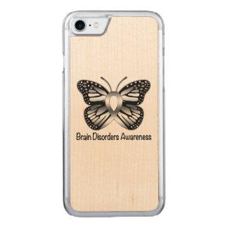 Gehirn-Störungs-Bewusstsein mit Carved iPhone 8/7 Hülle
