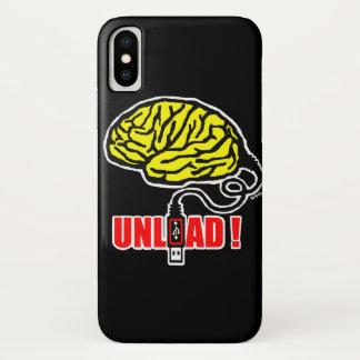 Gehirn zum zu entladen iPhone x hülle