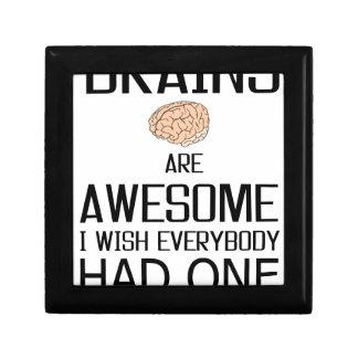 Gehirne sind fantastisch schmuckschachtel