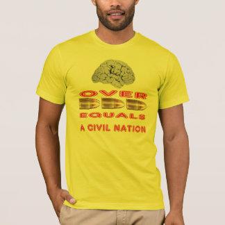Gehirne über Kugeln T-Shirt