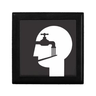 Gehirnwäsche vernommener Sprecher Geschenkbox