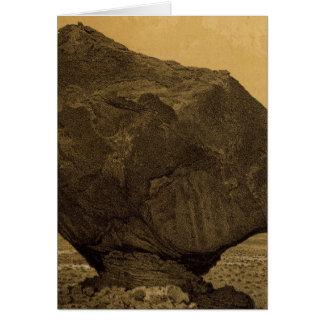 Gehockter Felsen, Rocker-Nebenfluss, Arizona Karte