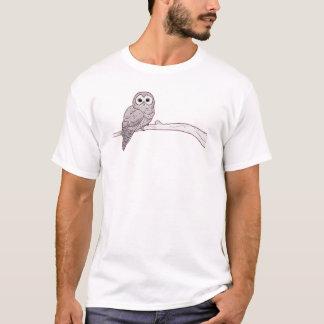 Gehocktes Eulent-shirt T-Shirt