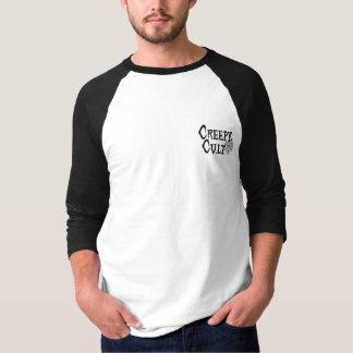 Gehörnter die Göttin-Baseball Jersey der Männer T-Shirt