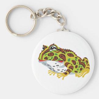 gehörnter Frosch des PacMan Schlüsselanhänger