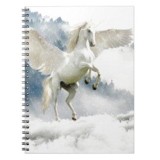 Gehörnter Pegasus Notizblock