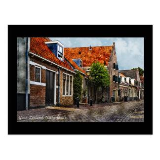 , Geht Zeeland (die Niederlande) Postkarte