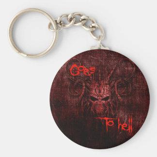Geht zur Hölle Schlüsselanhänger