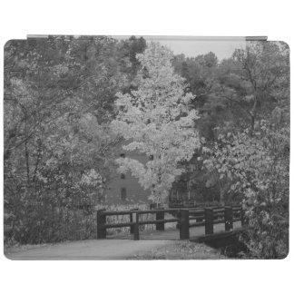 Gehweg-Brücke zum Gassen-MühlGrayscale iPad Hülle
