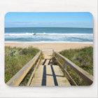 Gehweg zum Strand Mousepad