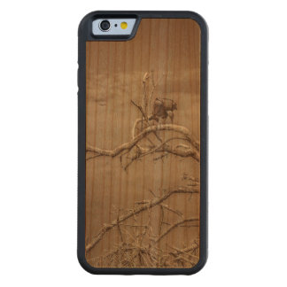 Geier an der Spitze Leaveless Baums Bumper iPhone 6 Hülle Kirsche