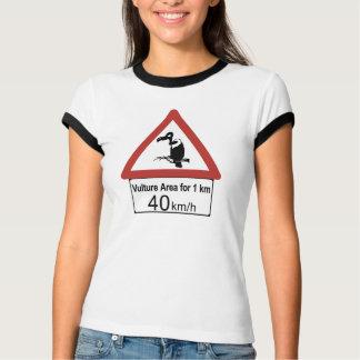 Geier-Bereich, handeln Warnzeichen, Namibia T-Shirt