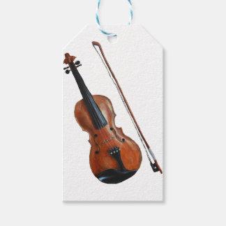 Geige Geschenkanhänger