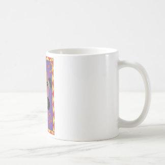 Geige mit einer Grenze Kaffeetasse
