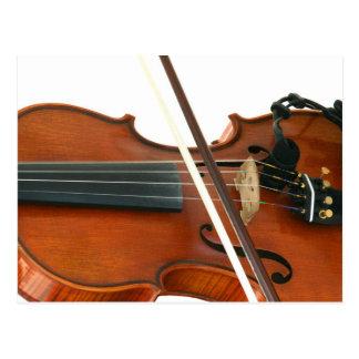 Geige Postkarte