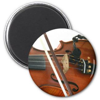 Geige Runder Magnet 5,7 Cm
