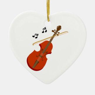 Geige Violine Violine Keramik Ornament