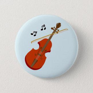 Geige Violine Violine Runder Button 5,7 Cm