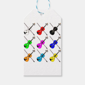 Geigen Geschenkanhänger