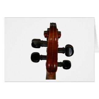 Geigen-Rolle Karte