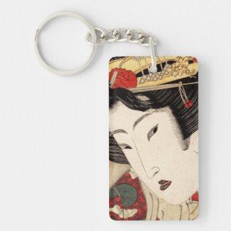 Geisha 1 schlüsselanhänger