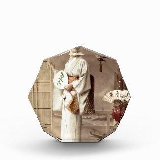 Geisha Acryl Auszeichnung